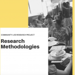 Guide on methodologies for community-led research