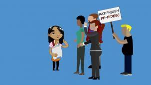 Lucy y el acceso a la justicia para garantizar su derecho a la educación ¡Ratifiquen el PF-PIDESC!